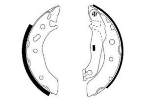 Mintex-Rear-Brake-Shoe-Set-MFR453-BRAND-NEW-GENUINE-5-YEAR-WARRANTY