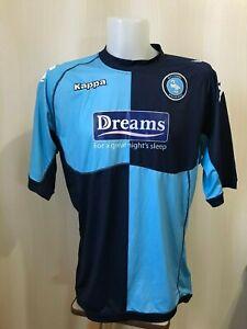 Wycombe-Wanderers-2011-2012-Home-XXL-Kappa-football-shirt-jersey-maillot-2XL