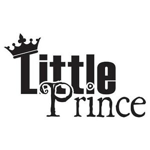 Little Prince Boys Nursery Bedroom Vinyl Wall Decal