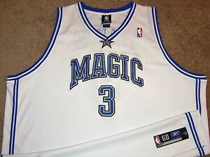 VTG AUTHENTIC STEVE FRANCIS ORLANDO MAGIC NBA REEBOK JERSEY 60 SEWN ... 338be59cd