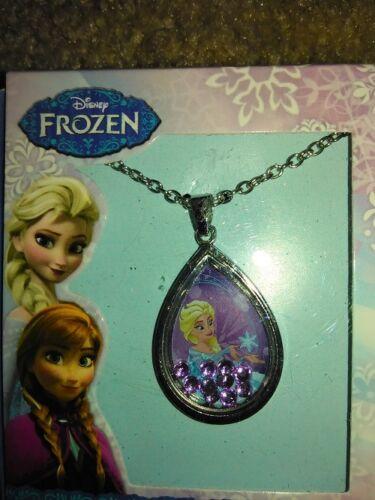Disney Frozen Elsa Shaker Pendant Necklace NEW!!