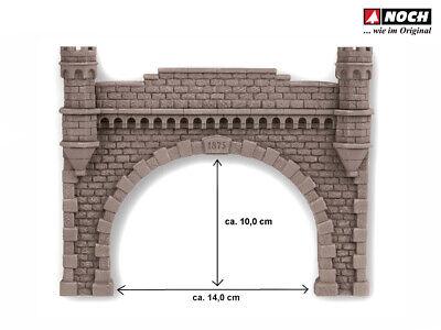 Noch 58033 Tunnel-Fels-Innenwand gebogen Spur H0 OVP