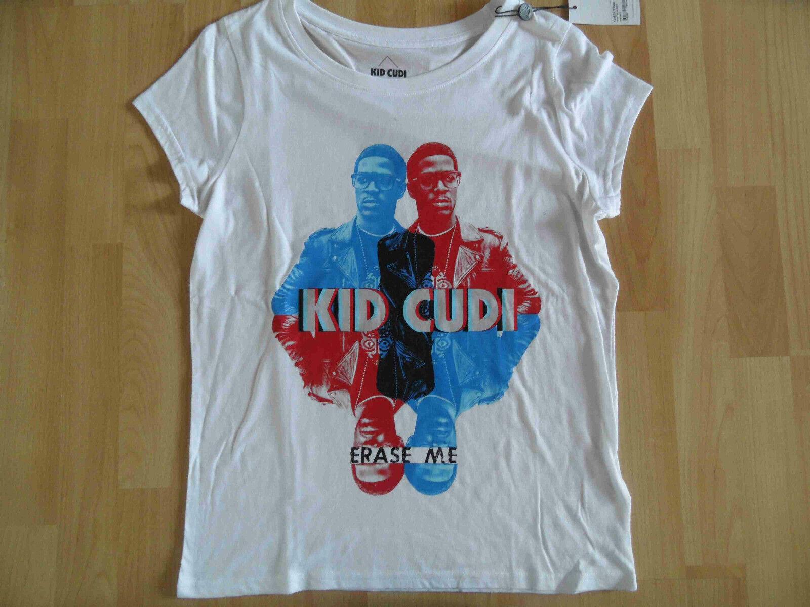 ELEVEN ELEVEN ELEVEN PARIS schönes Shirt KIDC Kid Cudi weiß Gr. S NEU cc0310