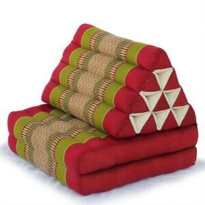 Thai-Triangle-Pillow-Two-Fold-Thailand-made-w-fast-shipping-from-US-warehouse