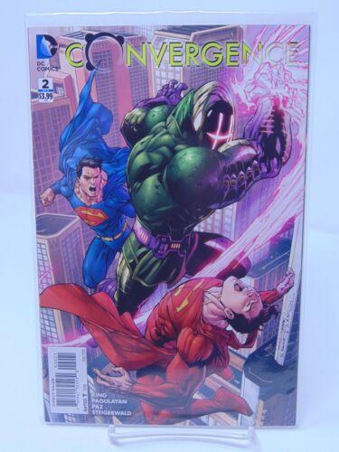 CONVERGENCE #2 VARIANT COVER DC COMICS VF//NM CB401
