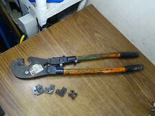 Thomas And Betts Tbm8 Compression Tool With Dies