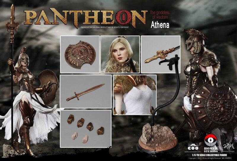 Coomodel x - legierung sterben casting - 1   6 pantheon athena der weisheit hs001 spielzeug als geschenk
