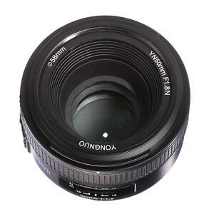 Yongnuo YN50mm F1 8 AF/MF Auto/Manual Focus Lens Objektiv