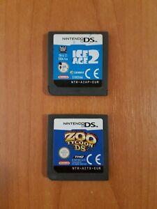 Lot de 2 jeux Nintendo DS/2DS/3DS