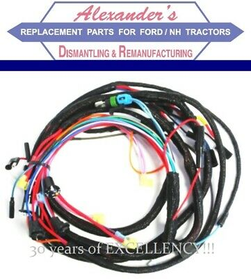 s.67792 wiring harness for ford diesel 2600, 3600, 3900, 4100, 4600  d6nn14a10 | ebay  ebay