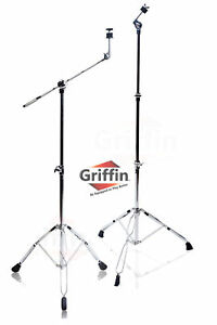 Cymbal-Boom-Stand-Pack-Griffin-Straight-Drum-Hardware-Percussion-Holder-Mount