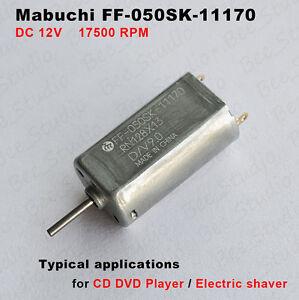 MABUCHI-FF-050SK-11170-DC-12V-17500-RPM-Micro-Motor-fuer-CD-Player-Elektrorasiere