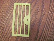 Vintage Playskool Lock Up Zoo replacement piece door
