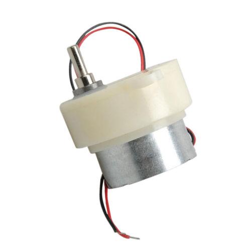 3mm D Speed Reduce Motor Gear Box 3V 12// 6V 24// 12V 48RPM Electric Machine