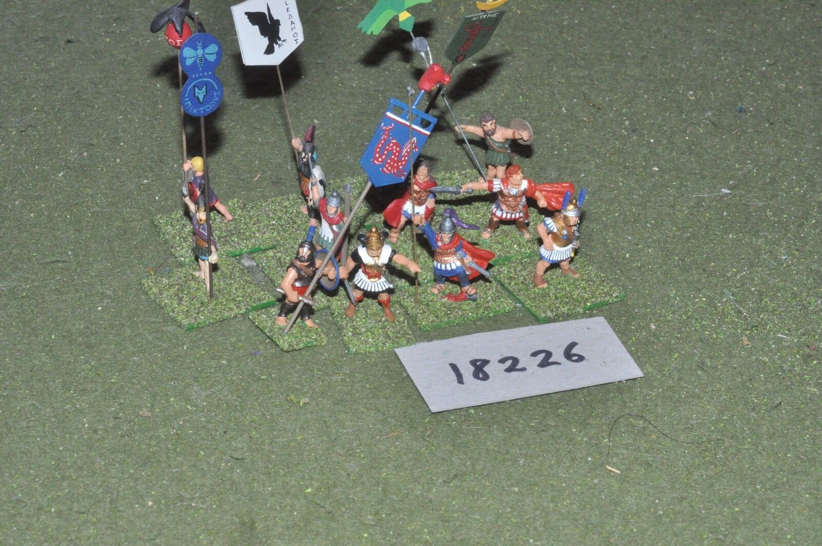 25mm classical   greek - ancient command - command (18226)