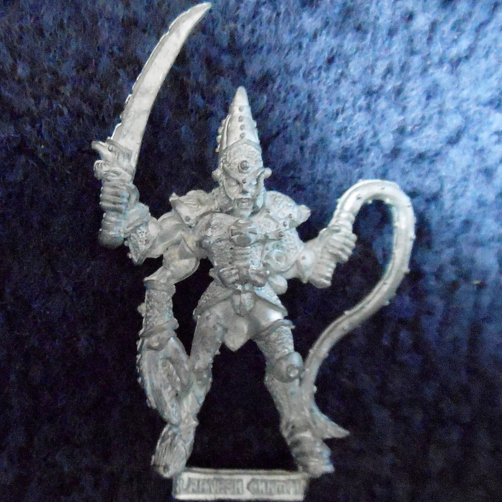 1988 Chaos Champion of Slaanesh 0218 18 Citadel Warhammer Army Hordes Fighter GW