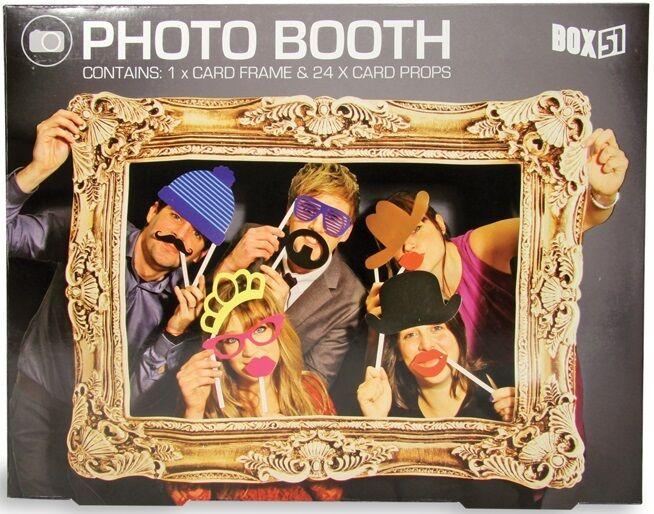 Photo démarrageh Props avec cadre chapeau moustache mariage anniversaire fête party fun