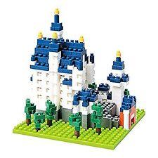 Nanoblock Architecture - Cinderella's Castle (Neuschwanstein Castle)