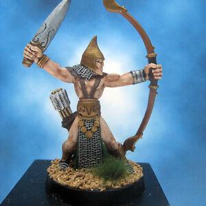 Painted-I-Kore-Celtos-Miniature-Elf-Archer-Leader