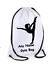 Personalised Drawstring Bag School Gym Kit Backpack Dance Kids Sport PE Gift