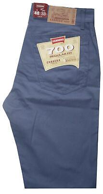 Pantalone Uomo Jeans Cotone Carrera Taglia 48 50 52 54 56 58 60 Avio Buoni Compagni Per Bambini E Adulti
