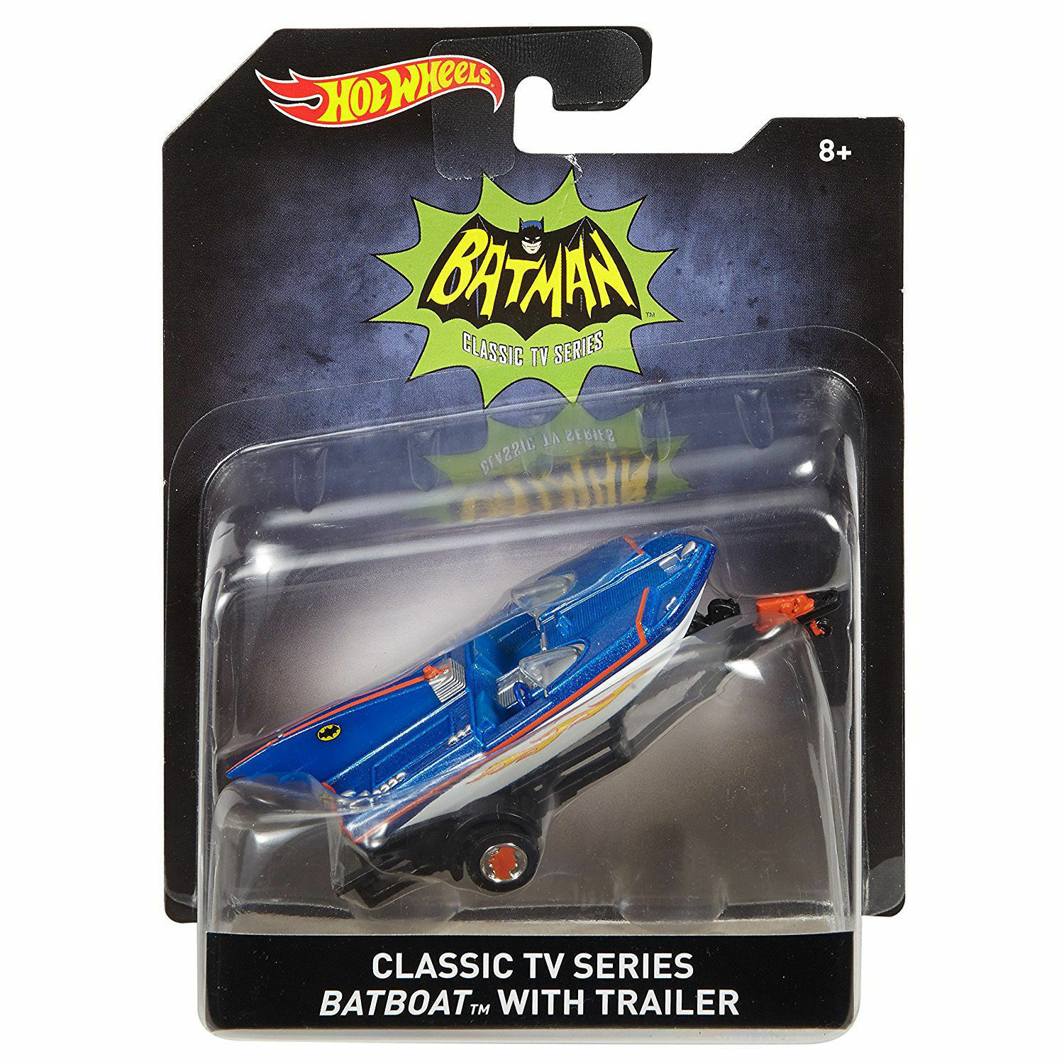 HOTWHEELS BATMAN 1 50 SCALE BATBOAT 2015