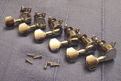 Mechaniken 6 links chrom gekapselt Tuner für rechtshänder
