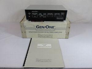 GEN-ONE-Genlocking-Encoder-Amiga-Computers-Communications-Specialties-VERY-RARE