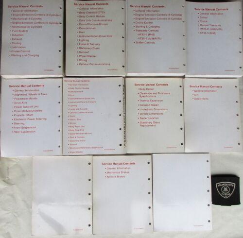 2002 SATURN VUE SERVICE SHOP REPAIR MANUAL SET 11 VOLUMES