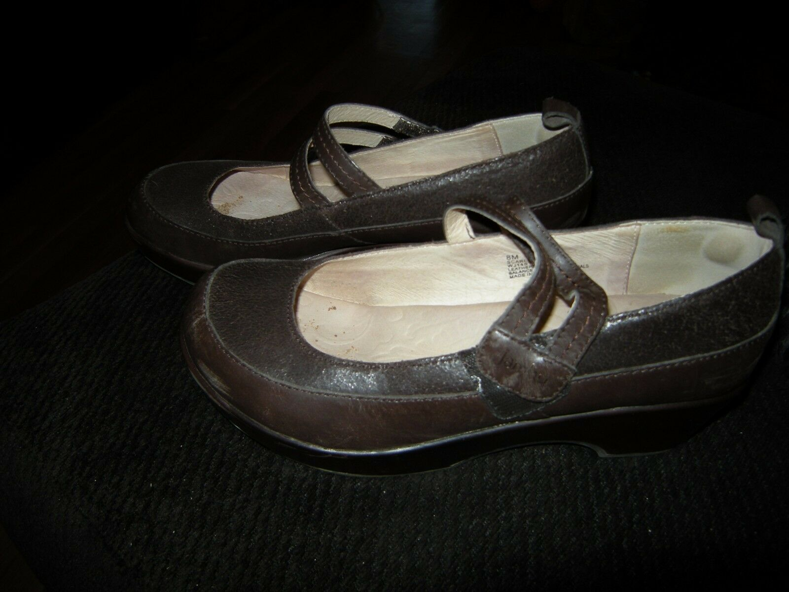 Nice Brown Womens Brown Nice Jambu Heels, 8 M 8e1fcf