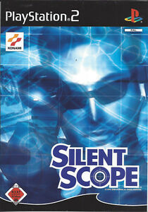 SILENT-SCOPE-for-Playstation-2-PS2-PAL-manual-in-German