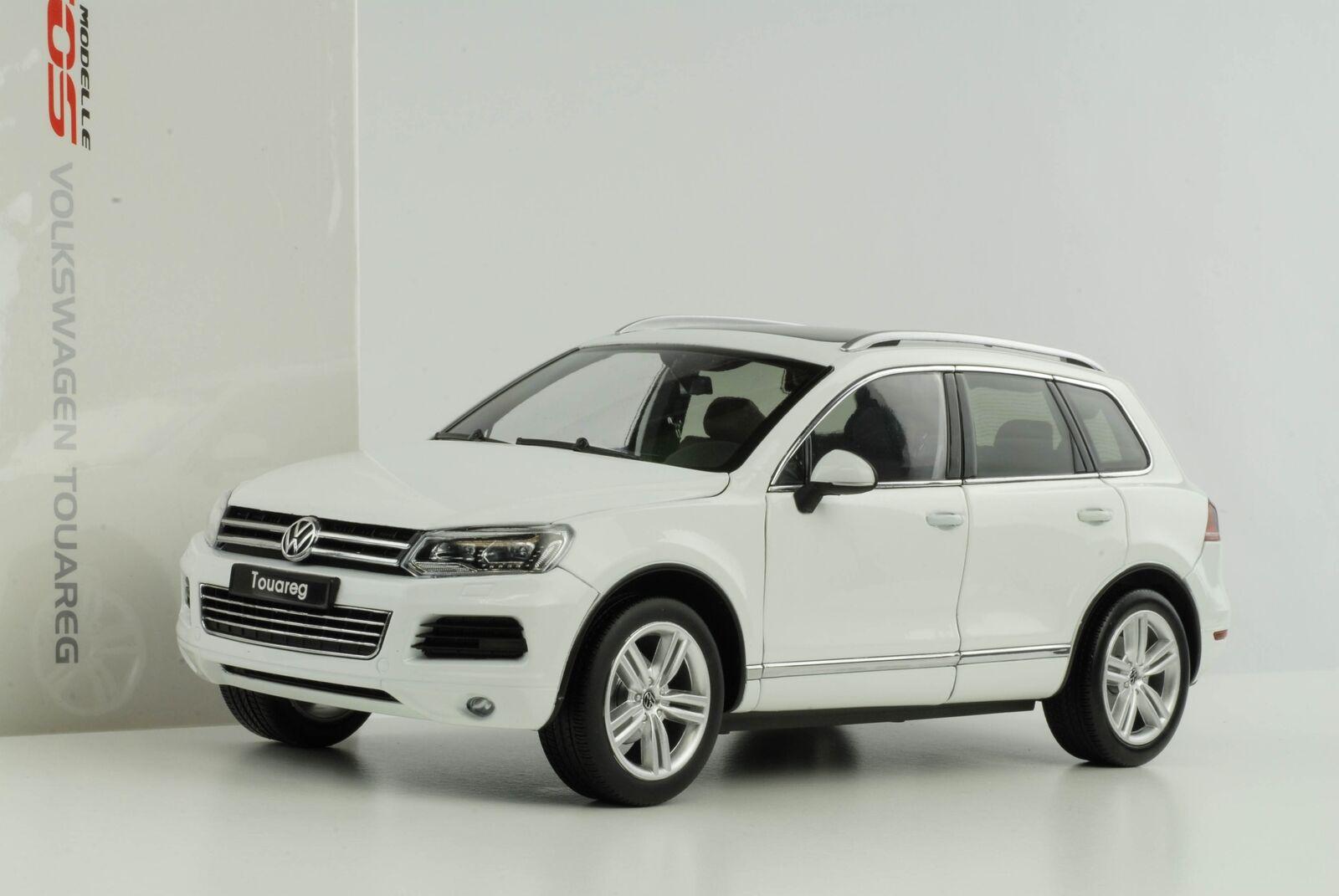 Touareg VW Volkswagen V6 Sti Bianco 1:18 Gt Autos Diecast