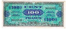 FRANCE - 100 FRANCS VERSO DRAPEAU. Fay VF n° 20.1 de 1944. en TTB  96532899