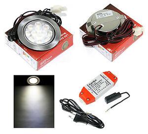 1-20-LED-Faretti-da-incasso-mobili-12V-Mobi-3W-30W-Bianco-Incluso-AMP