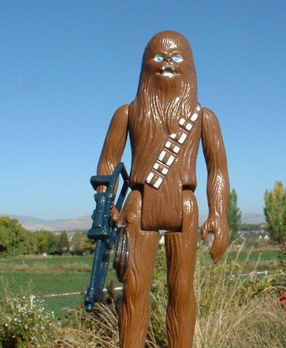 Niza 1977, Chewbacca pbp el returno del Jedi,  Closure of the last Estrella Wars