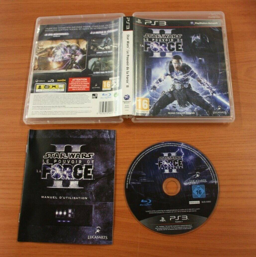 JEU SONY PS 3 Star Wars Le Pouvoir de la - Avis StarWars