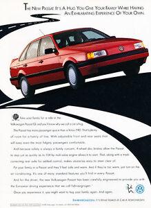 Red GL 1990 Volkswagen Jetta Vintage Advertisement Ad A20-B