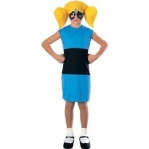 Bubbles Powerpuff Girls Costume Size 8 10 Medium Ebay
