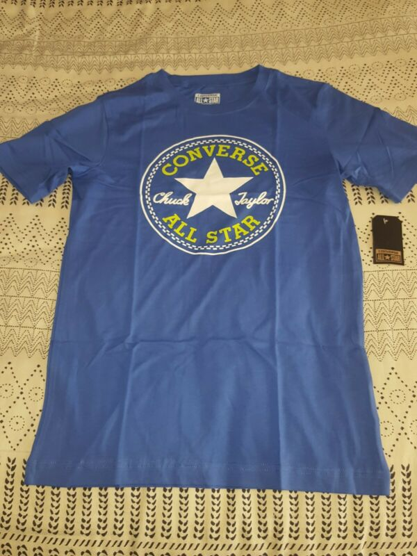 Converse Boys Youth Tshirt Top - Size Xl 13-15 Yrs - Brand New Rrp $30