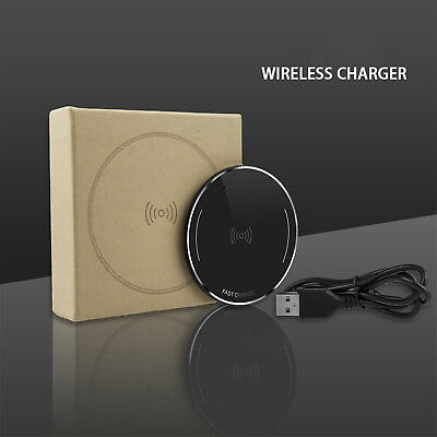 Qi Wireless Charging Pad Charger for Samsung Galaxy S8+ S8 S7 S6 S6 Edge Note8 5