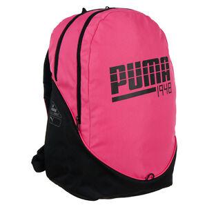 73aa382e44 Backpack Puma 1948 Graphic II Sport Pink Girl s School Touristic ...