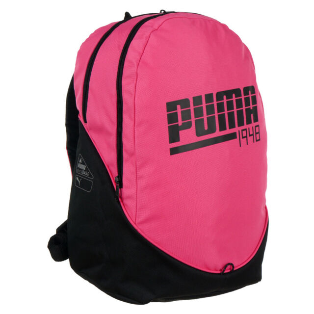 e28f525cc8 Backpack Puma 1948 Graphic II Sport Pink Girl s School Touristic Rucksack  Bag