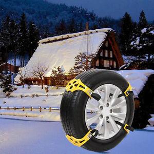 HOT-Snow-Ice-Mud-Anti-Skid-Grip-Car-Truck-Wheel-Tire-Chain-Traction