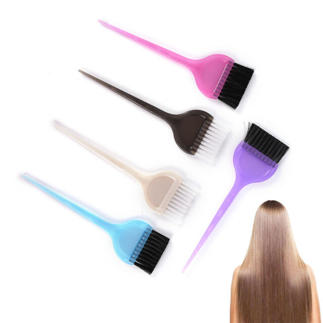 Hairdressing Brushes Combo Salon Comb Hair Color Brush Dye Tint Tool Kits Hot WF
