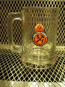 "Smith /& Forge Hard Cider""one""16 Ounce Glass Mug Miller Brewing Company Milwaukee"