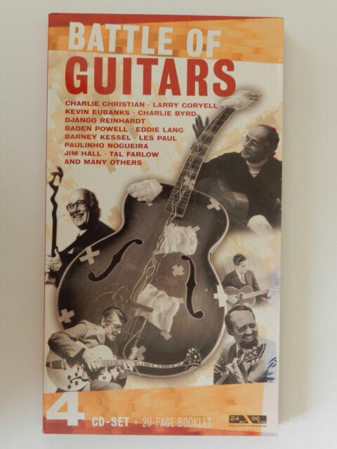4 CD Set Battle of Guitars Charlie Christian Larry Coryell Kevin Eubanks