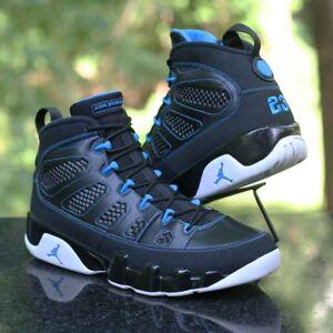 sports shoes dd2f5 55ccf Image is loading Air-Jordan-9-IX-Retro-Photo-Blue-Black-