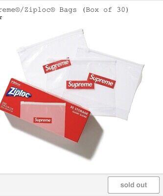 Confirmed Order Supreme Ziplock Bags