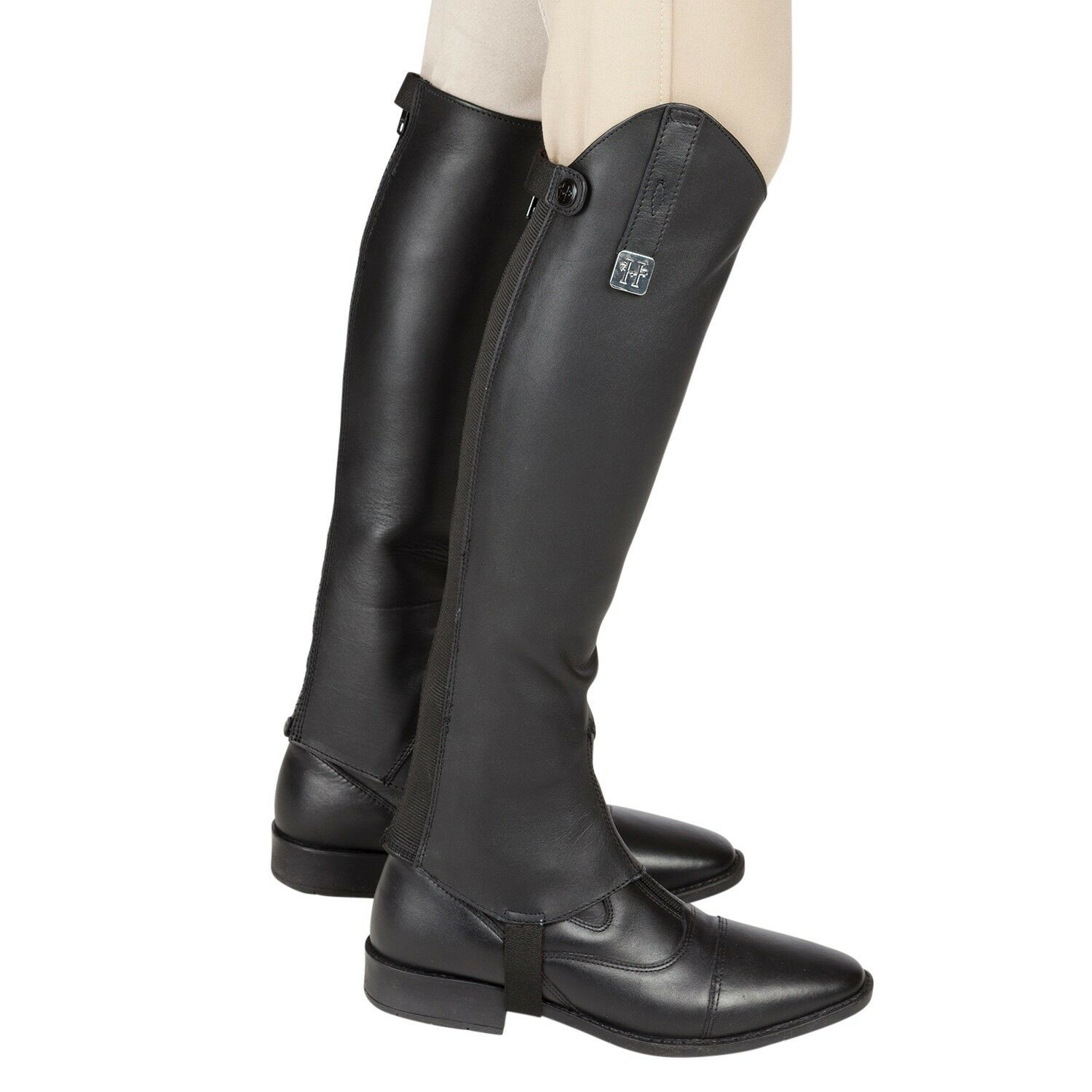 Huntley Equestrian Custom Fit Premium Leder Half Chaps