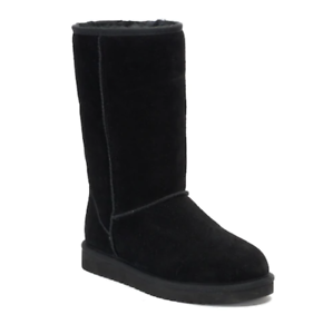 ad488ab7d60 Details about NIB Women's Koolaburra By UGG Classic Tall Winter Boots Black
